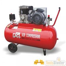 Mobiele compressor 50 liter