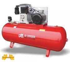Stationaire compressor 500 Liter
